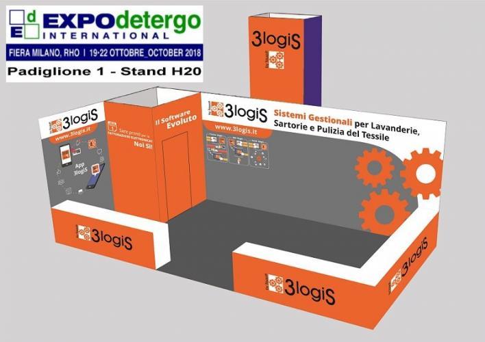 Stand 3logiS Expodetergo 2018